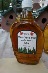 Chuck's maple syrup