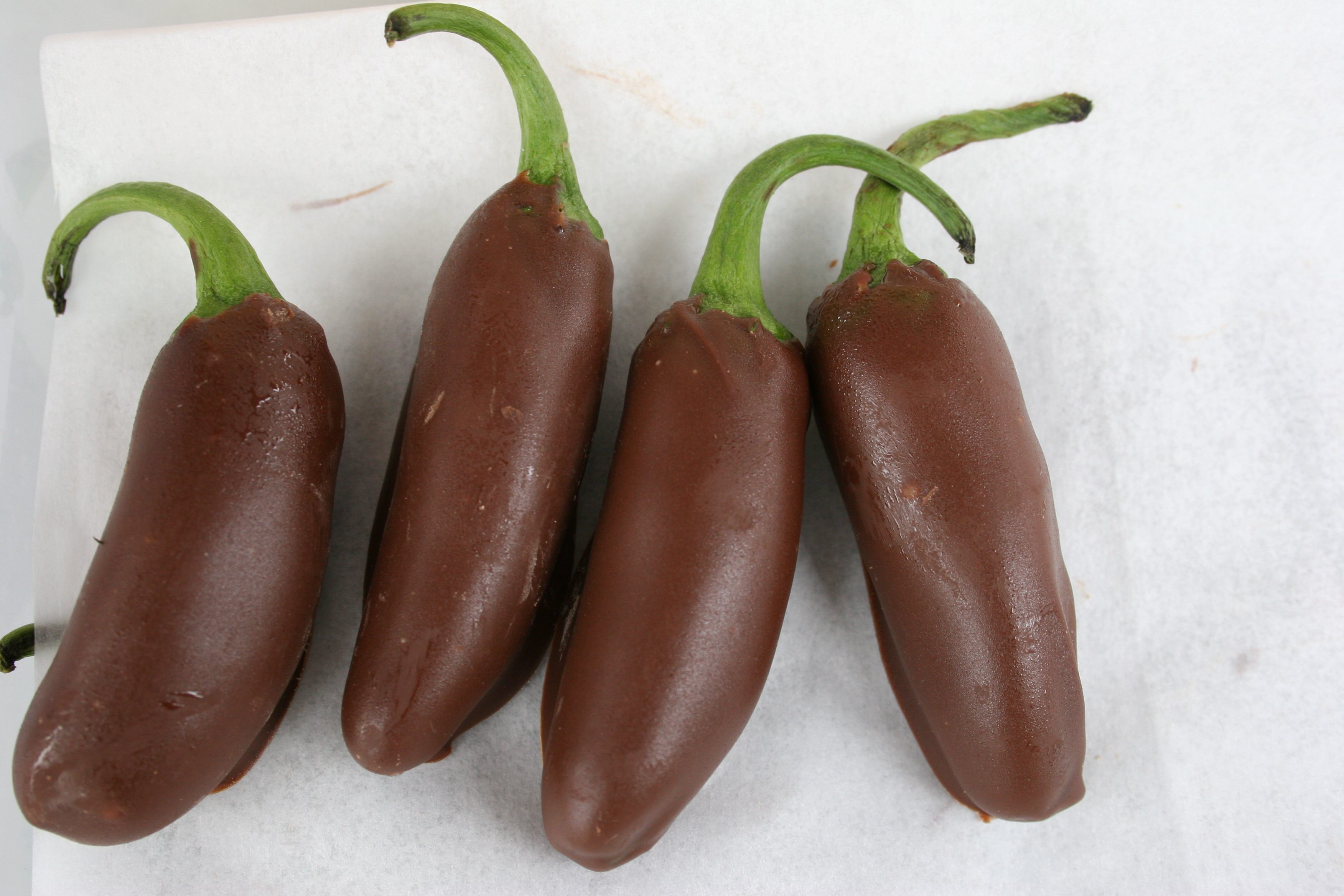 Chocolate Covered Jalapenos