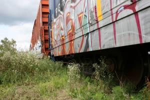 Boxcar graffiti