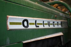 A Faribault area farmer collects Olivers, including a 1655 from the 1970s.