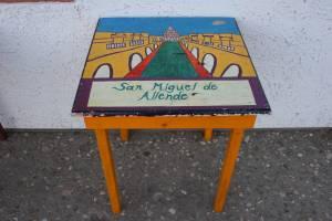 Art representing San Miguel de Allende.