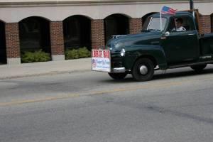Howard Homeier drives his Chevy down Minnesota Highway 60, the main drag through Kenyon.