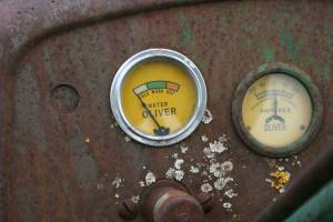 Oliver Super 77 gauges