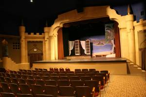 """Paradise Center for the Arts theatre setting for """"South Pacific"""""""