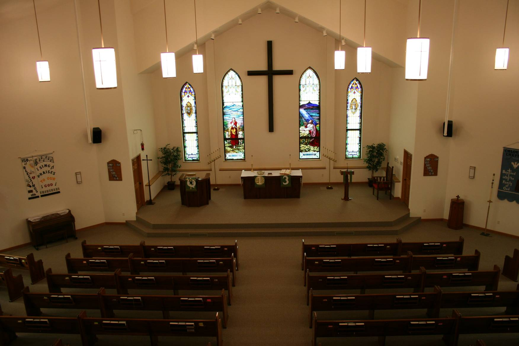 Immanuel Lutheran Church Rural Courtland Minnesota on Church Sanctuary Interior Design On Modern