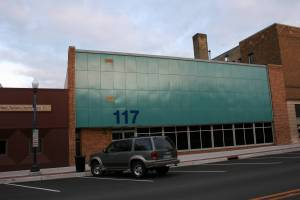 I've never known what business occupies 117 Central Avenue, but the color choice certainly makes it stand out from other buildings. Should this get a new facelift too?