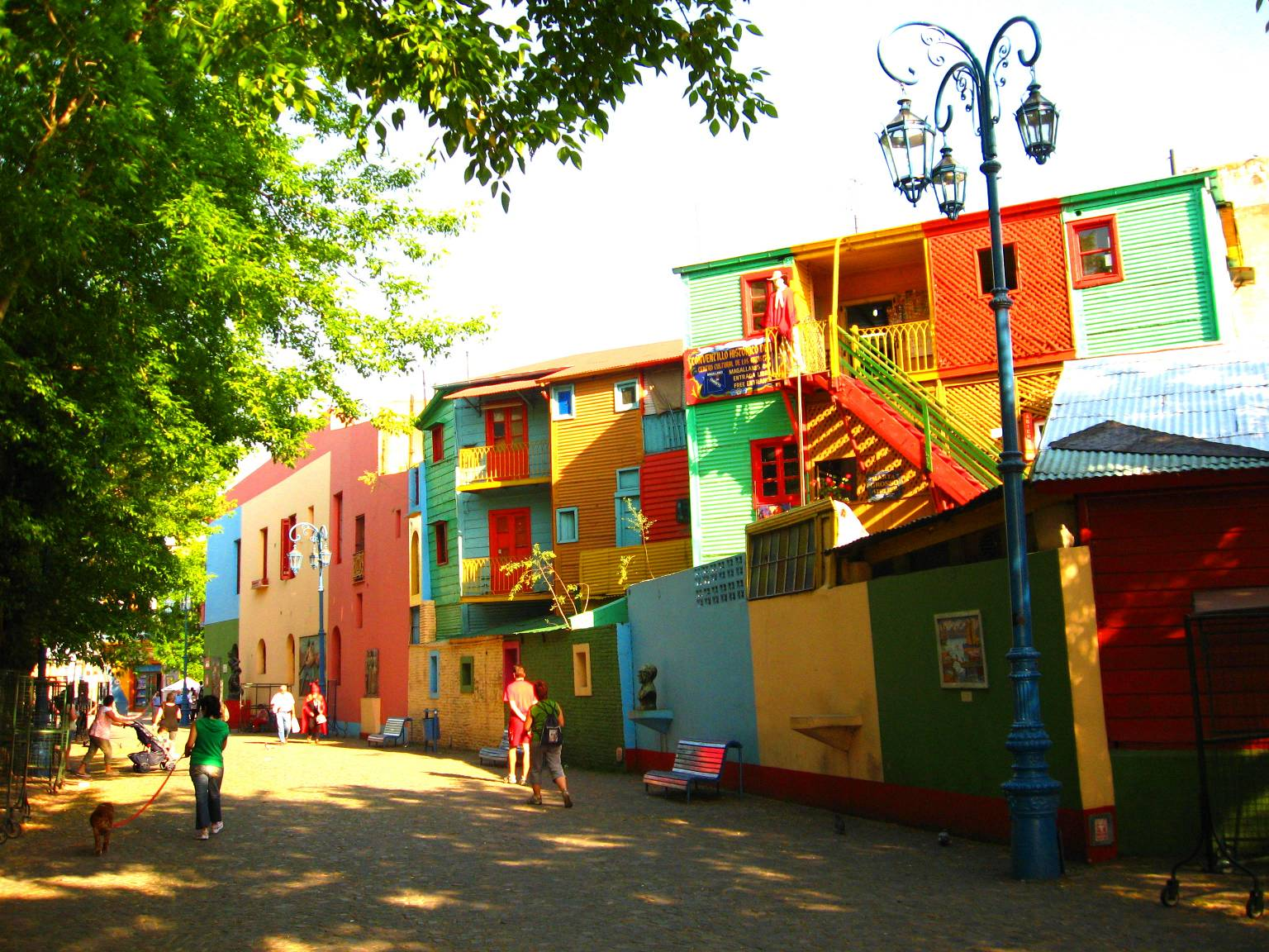 Buenos Aires Argentina  city pictures gallery : buildings in the La Boca neighborhood of Buenos Aires, Argentina ...