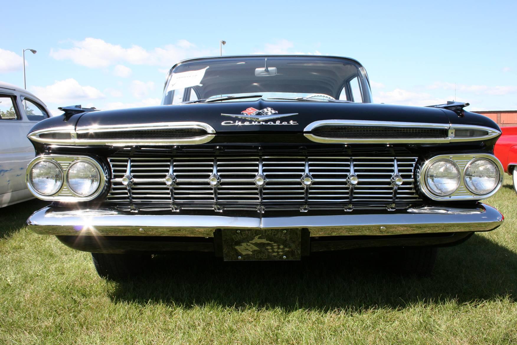 The 1959 Chevy Impala had a