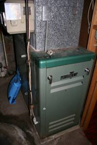 Our old PerfecTemp furnace works fine (we think), but it's, oh, so energy inefficient.