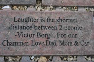 Poetry on brick