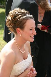 The beautiful bride, my niece Kristina.