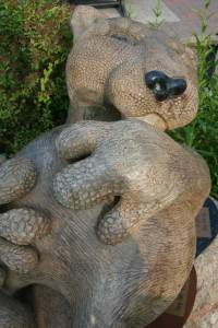 """Pokey Park's """"Leo,"""" on the corner of 3rd St. N.W. and Beltrami Ave. N.W. and for sale at $15,000."""