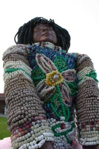 """Artist Suzi Rhae Ross created """"Morgan's Fancy"""" displayed at 4th St. N.W. and Bemidji Ave. Cost, $2,500."""