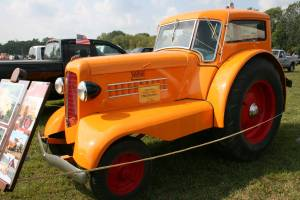 The first-ever 1938 Minneapolis Moline UDLX, one luxury tractor.