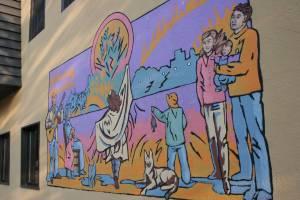 Paula Swenson's mural