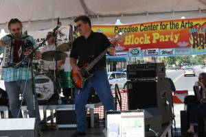 The Swamp Kings, a metro-based country and blues band, performed at the Blue Collar BBQ and Arts Fest in Faribault.