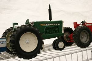Fitting with the day's theme, toy tractors were available for purchase.
