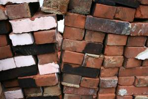 Bricks with character, soot and all.