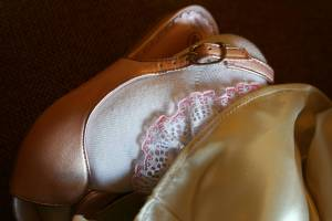 Keira's sugar-and-spice, dainty shoe.