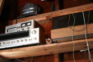 old stereo system