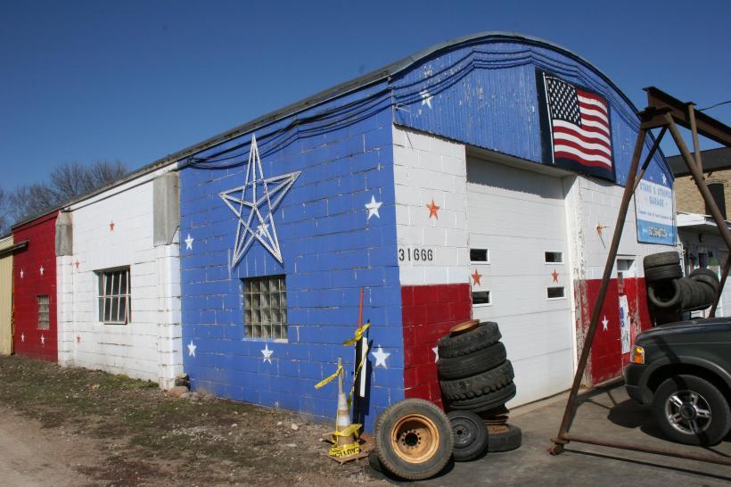 Copy of Garage, Stars & Stripes 1