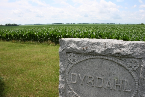 Even after family has departed this life, their memory is as close as the graves that surround Moland Lutheran Church.