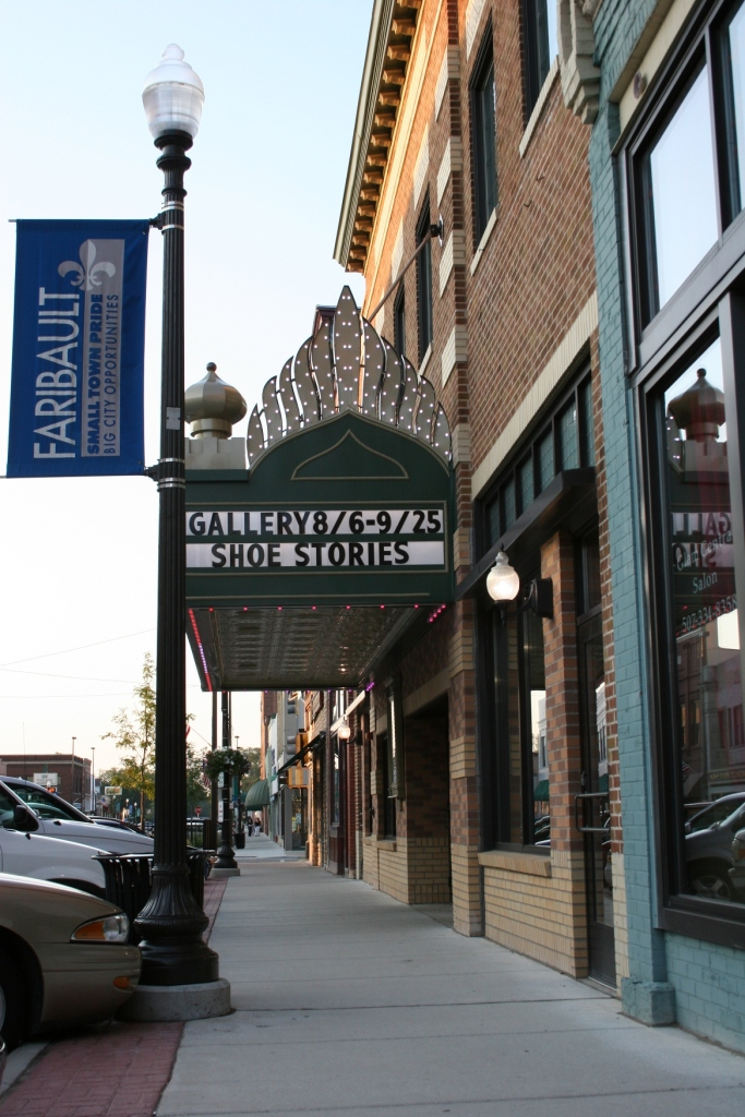 """""""Shoe Stories"""" opened Friday at the Paradise Center for the Arts in Faribault."""