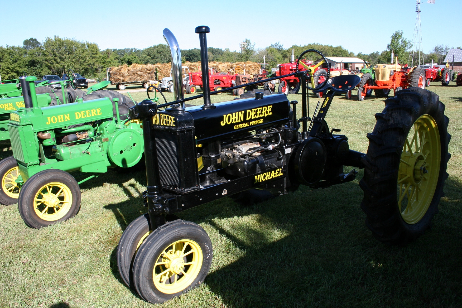 John Deere Tractor Shows : Proud to show john deere colors when is it too much