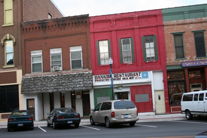 Downtown Faribault businesses include Banadir Restaurant, a Somali restaurant.
