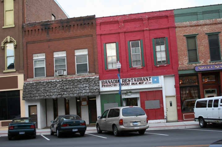 Downtown Faribault businesses include Banadir Restaurant, a Somali restaurant.