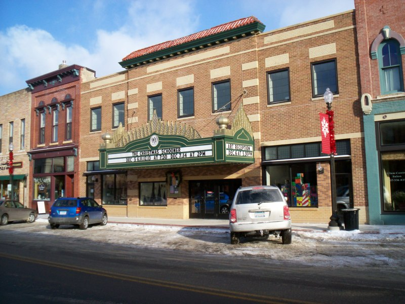 The Paradise Center for the Arts is the cultural hub for theater and art in a historic theatre along Faribault's Central Avenue.