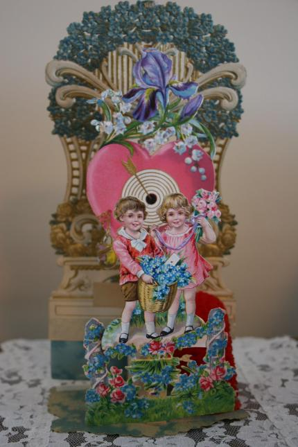 A vintage pop-up valentine belonging to my mom.