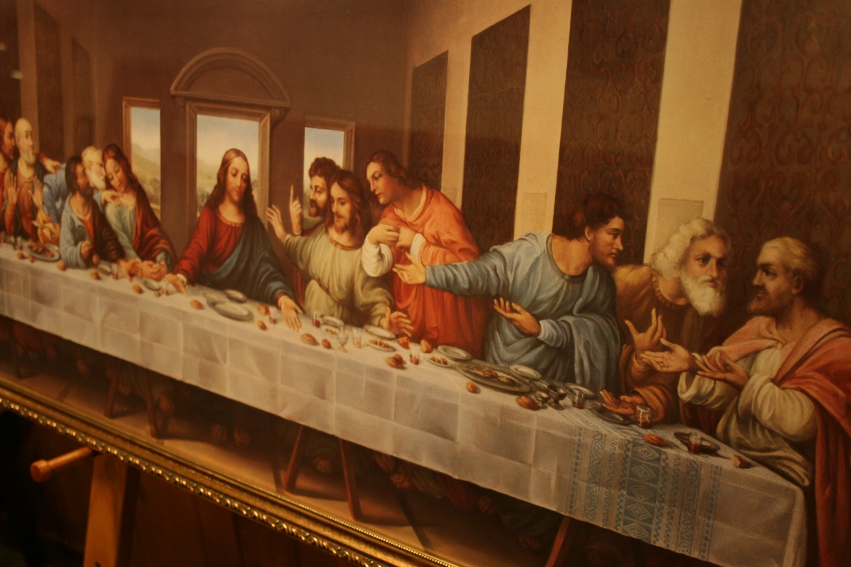 an analysis of last supper by da vinci A study of 'the last supper' by leonardo da vinci together with analysis of the 'theories' about this painting.