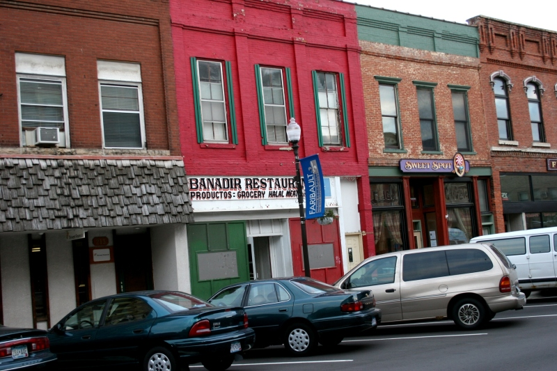 Banadir, a Somali restaurant, is located in historic downtown Faribault.
