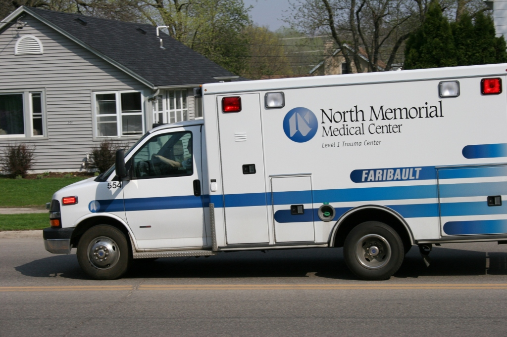I live on one of Faribault's busiest residential streets, also a main route for the ambulance which is based near my home.