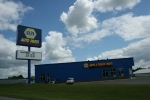 We passed right by the NAPA store to reach my billboards just down the road.