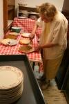 Social, Elsie plating pie2