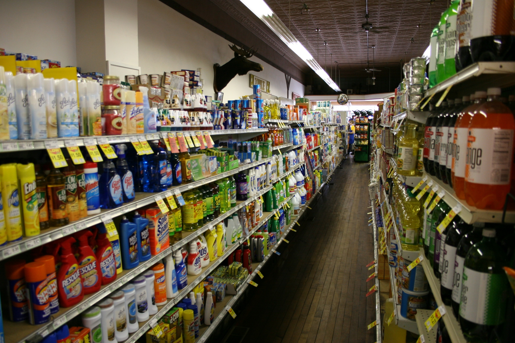 Grocery Store Aisle Maps