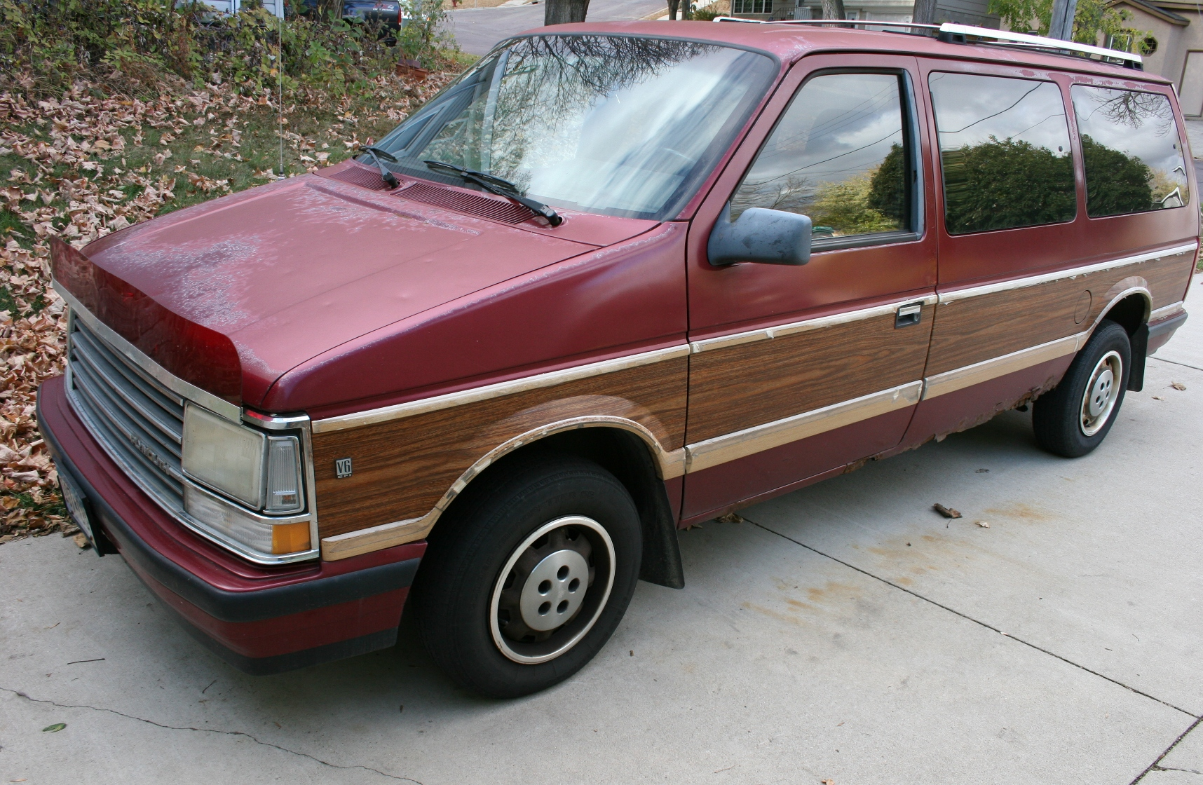 To replace the 1988 Plymouth