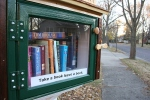 Little Library, frontclose-up