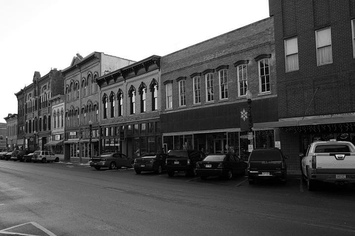 Historic buildings along Central Avenue.
