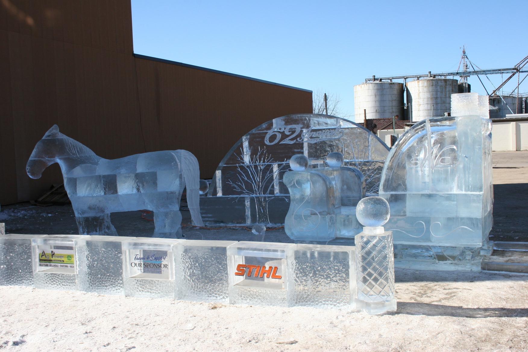 Ice Art In Rural Minnesota Minnesota Prairie Roots
