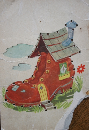 """""""There was an old woman who lives in a shoe..."""""""
