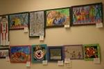 Art, overall wall