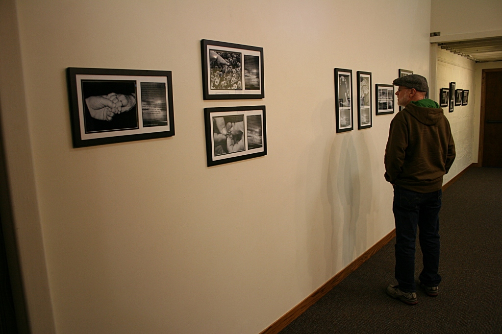 """Viewing Kay Herbst Helms' photos in """"What Sustains Us."""""""