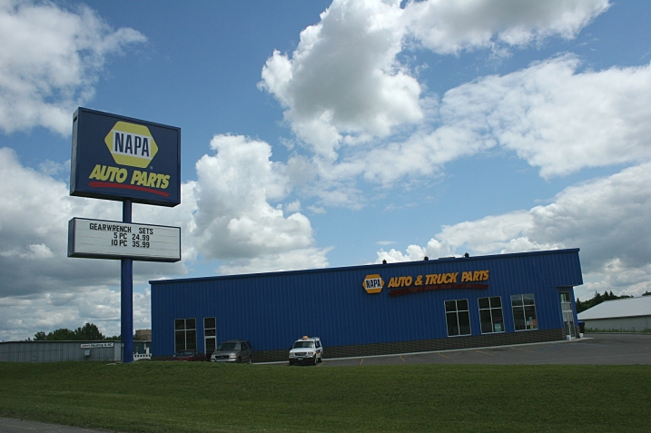 The NAPA store in Fergus Falls.