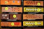 Railroad, stack oftrains