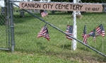 Cannon  City, sign