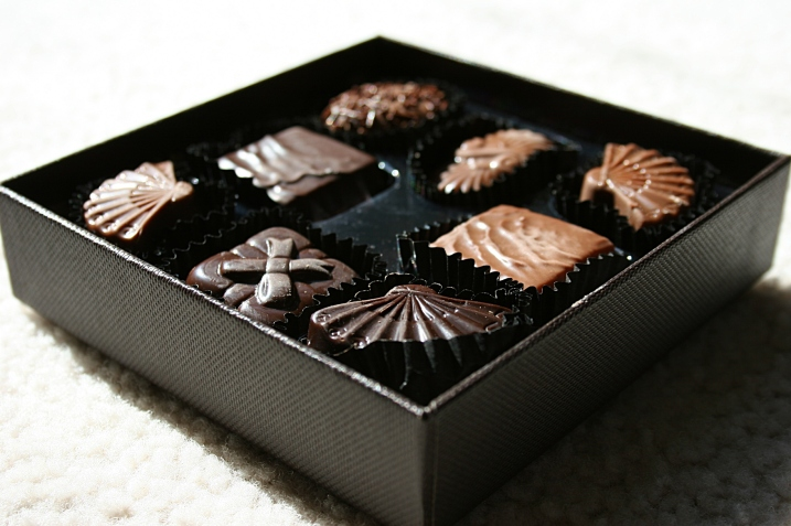 You can't go wrong with chocolate, like this box from my daughter Miranda on Mother's Day.