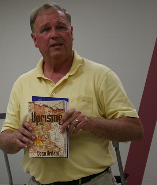 Dean Urdahl has written the trilogy of Uprising, Retribution and Pursuit.
